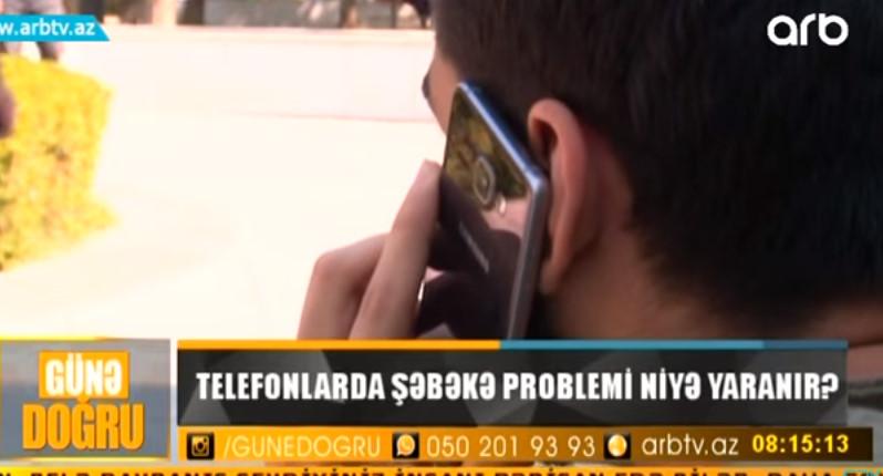 MÜTLƏQ OXUYUN! Telefonlarda şəbəkələr niyə itir?